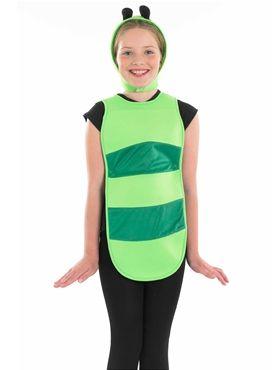 Simple  Child Caterpillar Costume