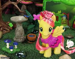 ExEQ Fluttershy Cottage 04 (DerpyDerp910) Tags: toy little cottage explore pony hasbro mlp mylittlepony my fluttershy equestria brony derpyderp910