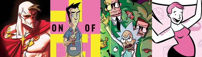 """Oni Press August 2016 Solicitations: """"Jeff Steinberg"""" Debuts, """"Rick and Morty"""" & More! 