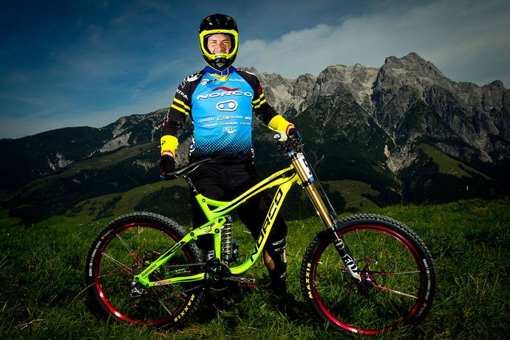 Bryn Atkinson with his Norco Aurum