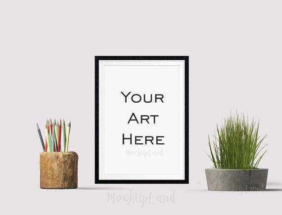 Mockup Frame | Styled Mock Up | MockUp for Art | Any Room Art | graphic mock up | drawing art mock up, web STORE MockUp