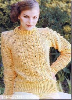 Пуловеры » Схемы вязания