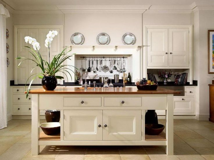 assembled kitchen island best 25 freestanding kitchen ideas on kitchen 1371