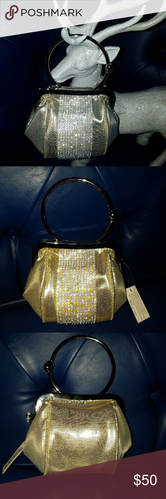 Mini night out purse  Free Gift with purchase Brand New  Free gift with purchase  1.Estee Lauder make up clutch  4.Elizabeth Arden lip gloss Bags Mini Bags