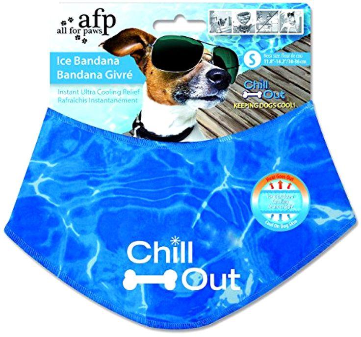 Small Dog Bandana, Dog Cooling Bandana, All for Paws Ice Bandana Cooling Bandana #AllforPaws