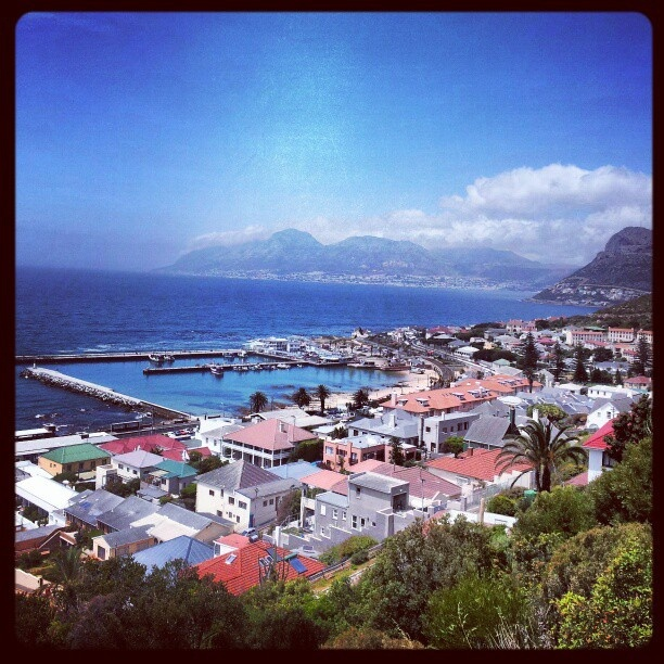 Kalk Bay, Cape Town. My favourite side of the mountain - quaint & quirky! by AfricanTours, via Flickr