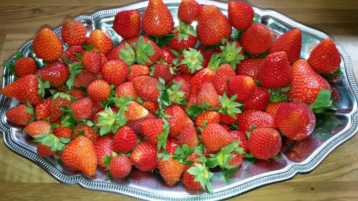 fraises  AUX papilles D'ISA