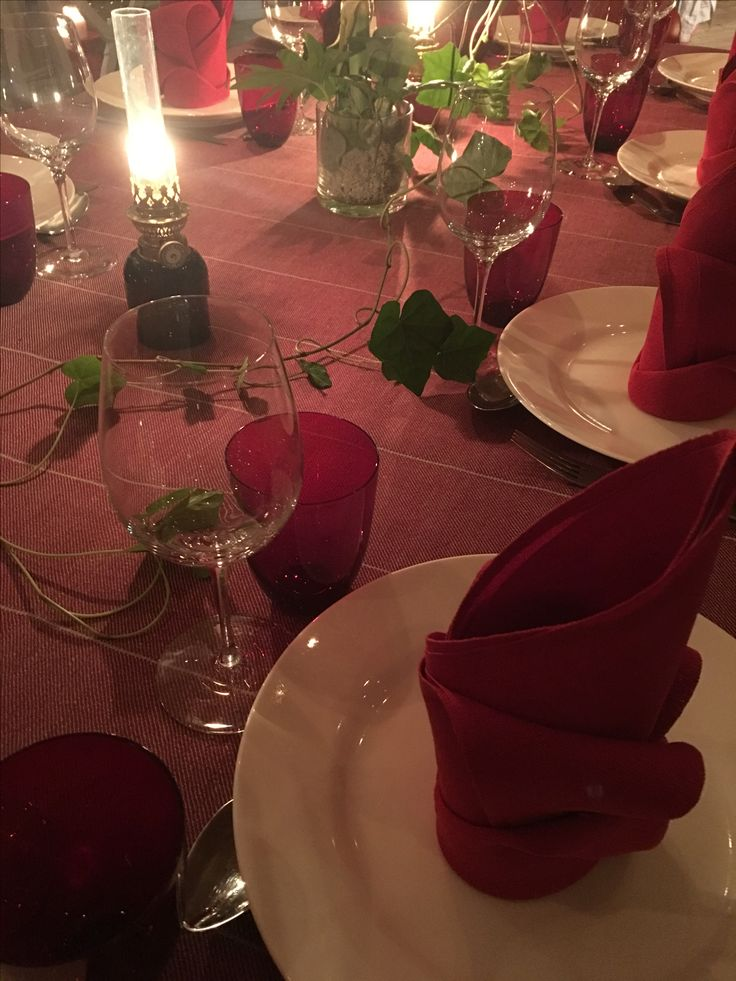 Christmas setting #vaxbolin #växbolin