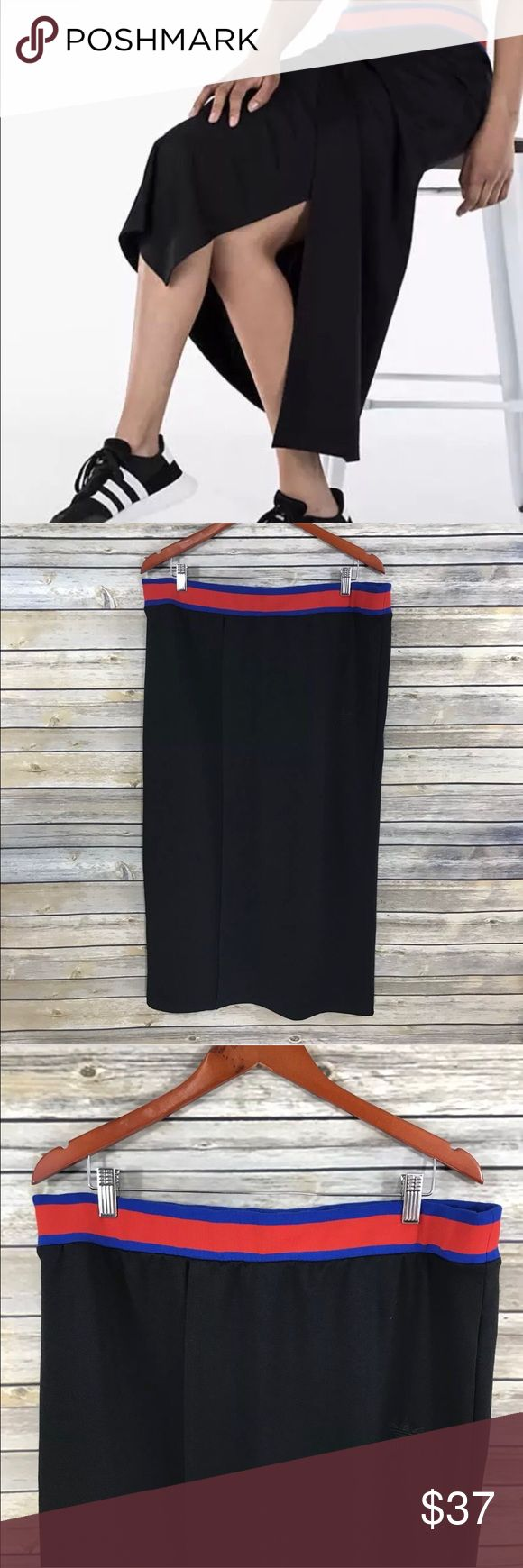 """Adidas Originals Embellished Arts Maxi Skirt Approximate Measurements (measured laying flat and unstretched) • Waist: 17"""" • Length: 34"""" adidas Skirts Maxi"""