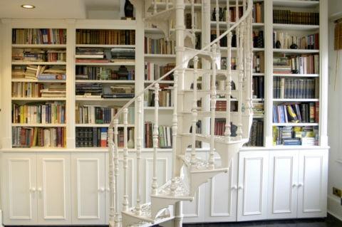 Bookshelves, Dreams Libraries, Home Libraries, Book Book, Interiors Design, Future House, Dreams House, Favourite Pin, Spirals Staircas