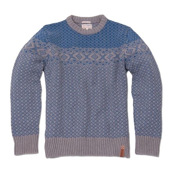 Striktrøje til mænd af Knowledge Cotton Apparel - økologisk tøj til mænd