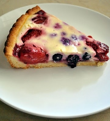 Finnish Blueberry Dessert