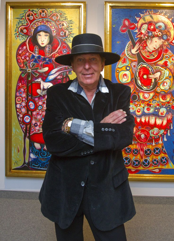 Toller Cranston, London Ont. 2013
