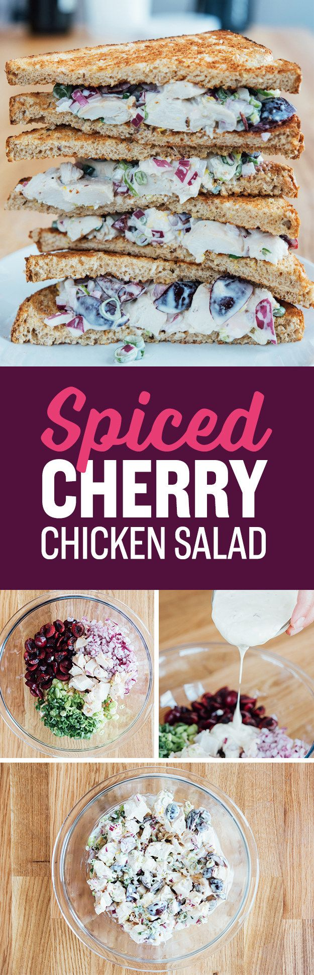 Spiced Cherry-Chicken Salad | 7 Easy Weeknight Recipes That Use Store-Bought…