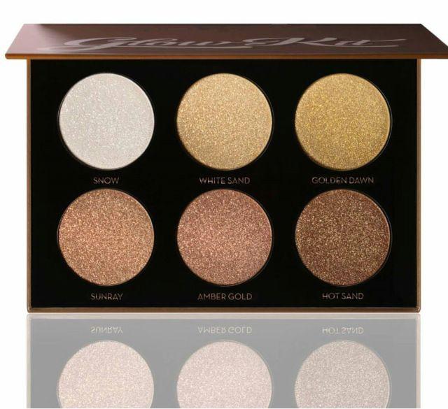 6 Cores Shimmer Sombra Paleta Marcador Branqueador Destacando Bronzer Paleta de Contorno Do Rosto Brilho Maquiagem Kits Cosméticos H121