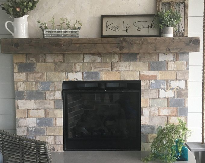 5 Foot New Pine Hand Hewn Rustic Barn Beam Style Fireplace Mantel 6 by 8 by 5/'