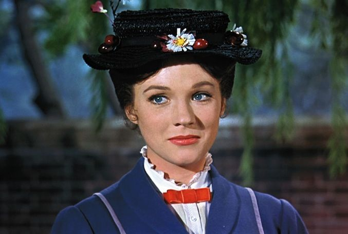 Ten Reasons Julie Andrews is Cooler Than We'll Ever Be | Mary Poppins