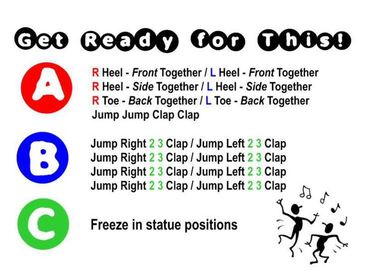 Get Ready For This (from Space Jam): use for movement, brain break, fun dance, Form
