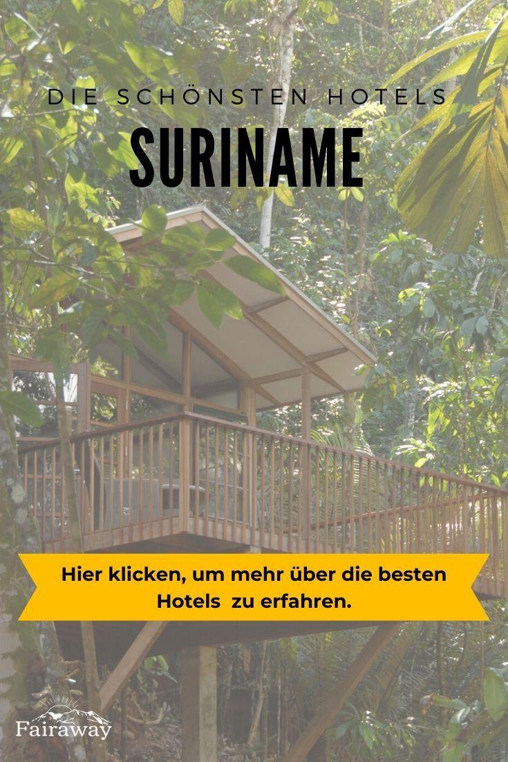Die Schonsten Hotels Fur Deine Suriname Rundreise Hotels Schone Hotels Reisen
