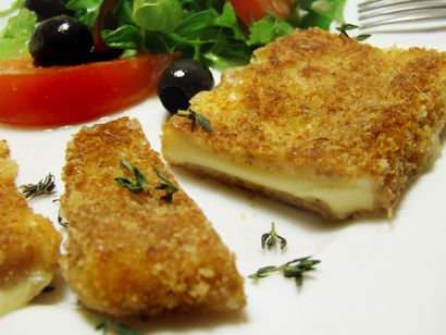 Vyprážaný syr (Slovak Fried Cheese) - Russian Season: Russian and Eastern European Cuisine