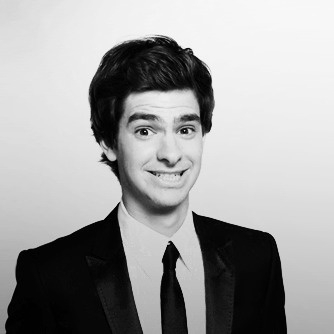 Andrew Garfield. Awkward smile is just too cute. His spiderman acting won me over :)