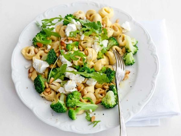 Try: Tortellini met broccoli en geitenkaas