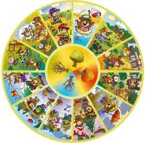 Trefl - Puzzle Calendar - puzzle edukacyjne 24 el. #puzle #nietypowe