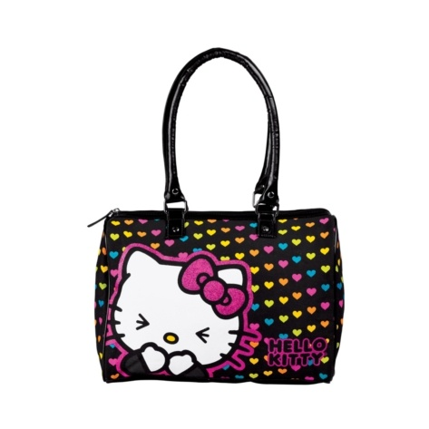 558910befe Hello Kitty Heart Duffel Bag Rainbow My most favorite bag in the WORLD. I  have loved and used this bag since the day I got it which was about 5 years  ago!