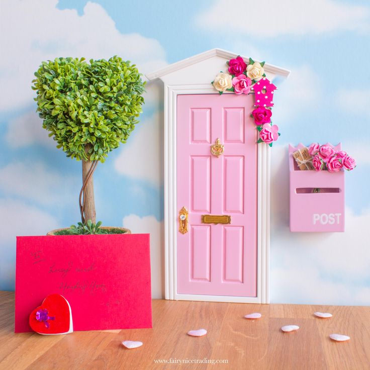 Learn the most magical way to tell your child you love them with a beautiful Fairy Door and 10 free printable Fairy Letters from your Fairy Friends.