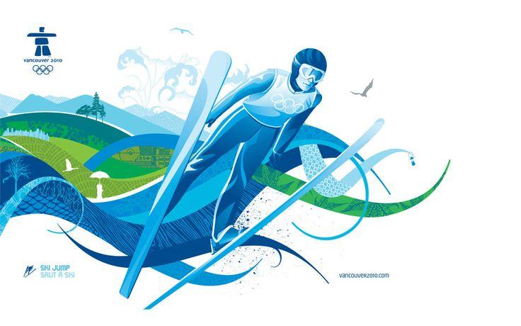 Jeux olympiques, wallaper, hiver Wallpaper - ForWallpaper.com