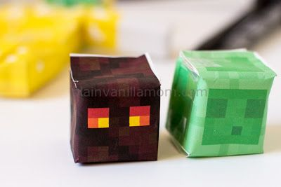 Plain Vanilla Mom: Minecraft Papercraft Studio
