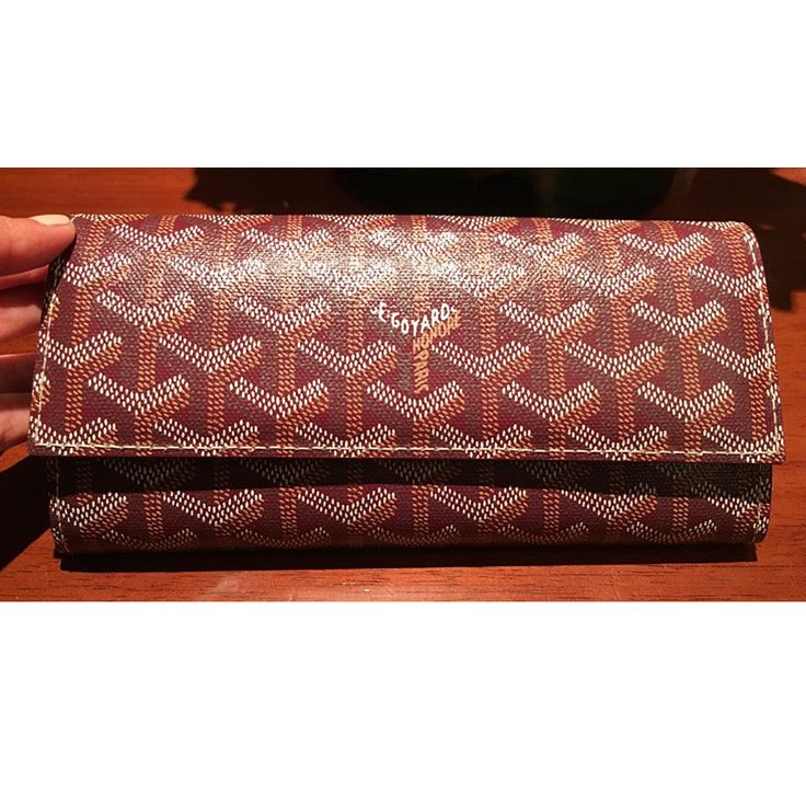 Goyard mens big long wallet flap color each color GOYARD - BUYMA
