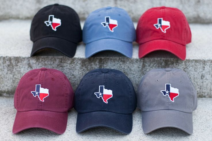 Texas State Outline With Flag Caps Heritage Line By