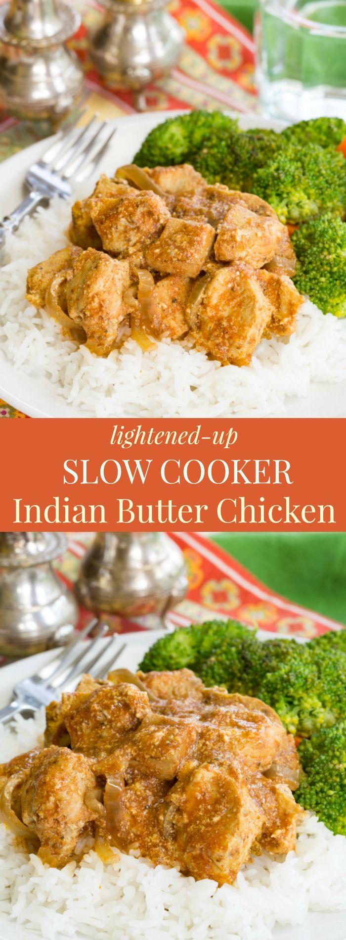 how to make butter chicken healthier