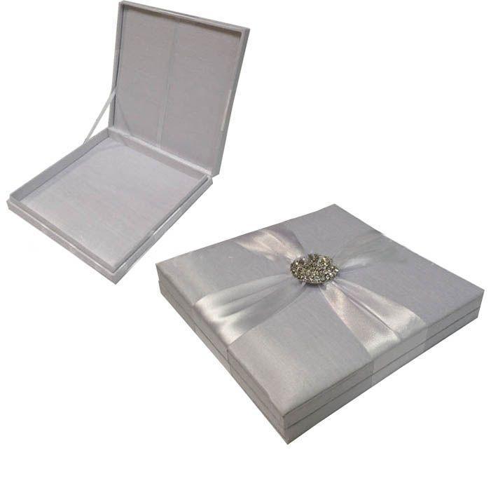 Silk Wedding Invitation Boxes is a brideu0027s