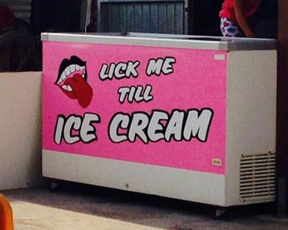 Lick me till... Funny Picture to share nº 14573