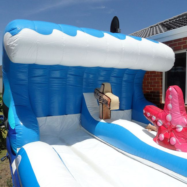 Surf the wave  #bouncycastle #bouncycastlehire #inflatablecastle
