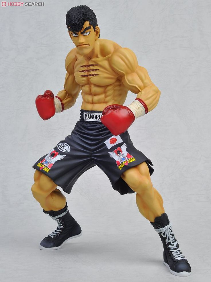 Mamoru Takamura Action Figure. From Hajime no Ippo / The Fighting Spirit. Long time sold out and i got this piece still in the box :-)