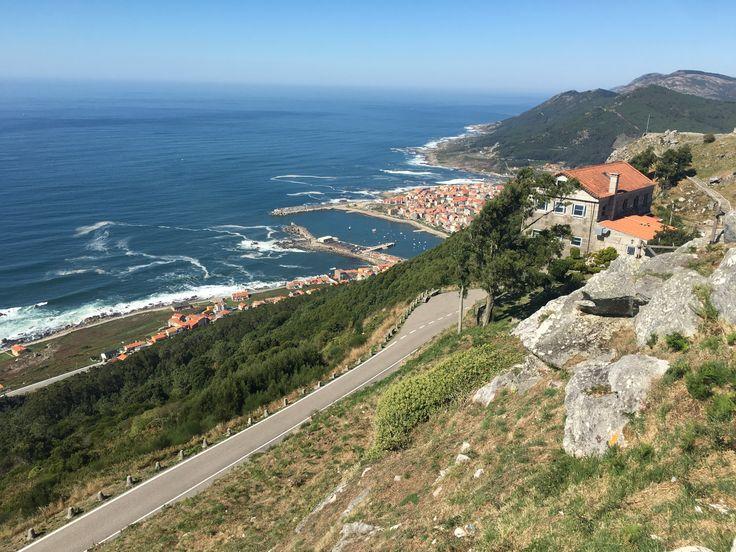 A GUARDA (Pontevedra).-Al sudoeste de la Comunidad se encuentra A Guarda y a pesar de su altitud 0 sobre el nivel del mar, desde el Monte de Santa Tecla se puede contemplar la desembocadura del río Miño, el océano Atlántico y los montes de Portugal.-  © CURIOSÓN