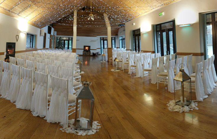 Panorama of ceremony room