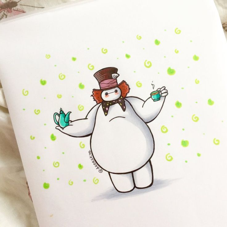 Big Hero 6's Baymax Reimagined As Every Disney Character Is The Cutest Thing
