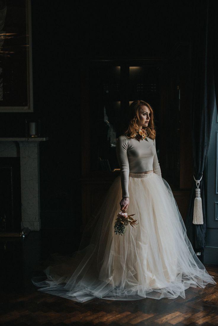 Carlowrie castle wedding dress
