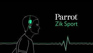 PARROT ZIK SPORT by http://www.2factory.com - Parrot a lancé un casque révolutionnaire : parfait pour les sportifs, il permet de mesurer les battements du cœur, d'écouter de la musique, d'émettre et de recevoir des appels… Pour le lancement de cet objet très technologique, 2factory a remporté l'appel d'offres avec cette proposition mélangeant technologie et esthétisme noir