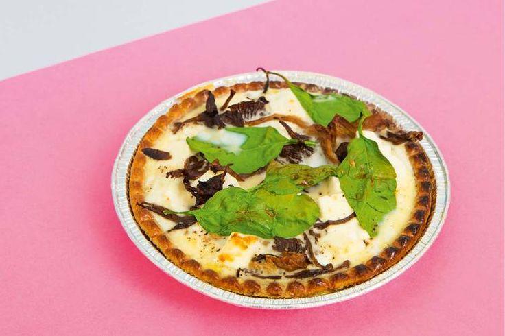 Sunn matpakke: Oppskrift på pai med sopp av Jonas Lundgren #treningsmat #sunnoggod
