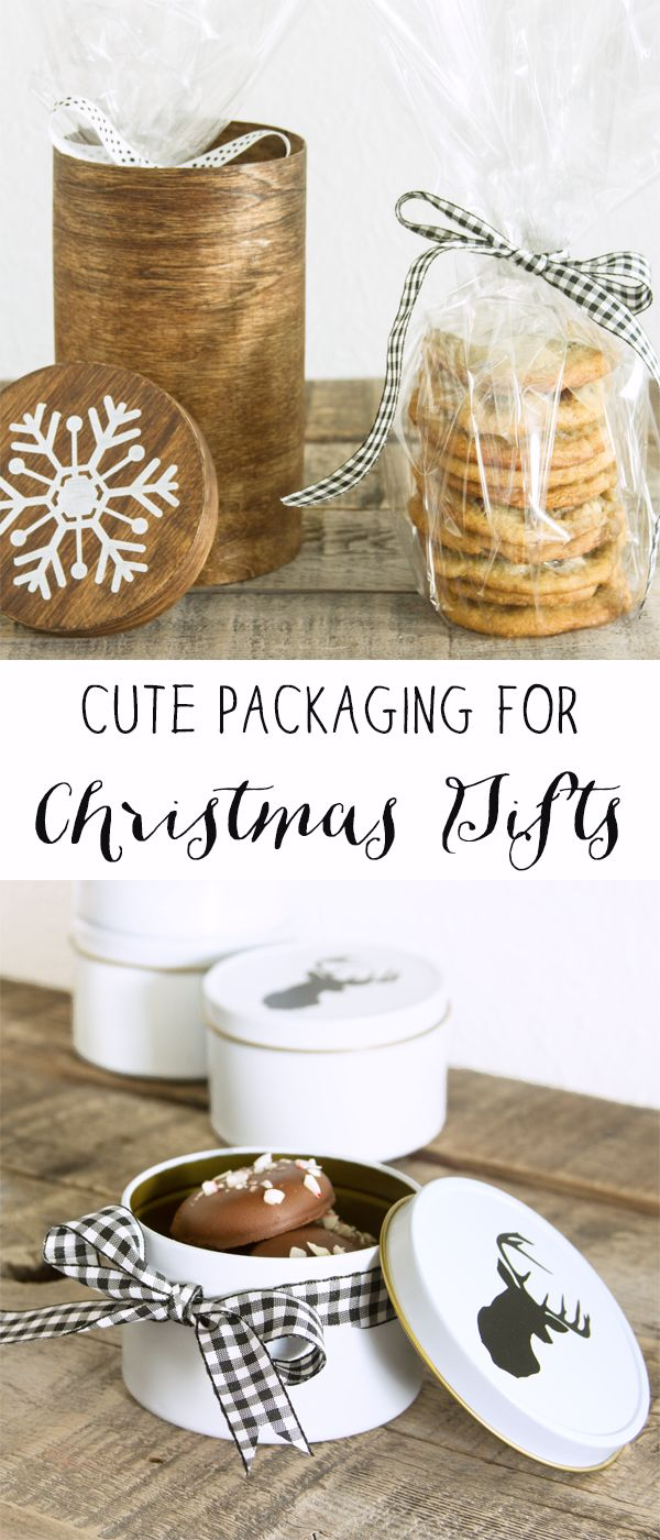 Gift wrapping ideas for home made baked goods - Cute Packaging For Gifts Not Just A Housewife