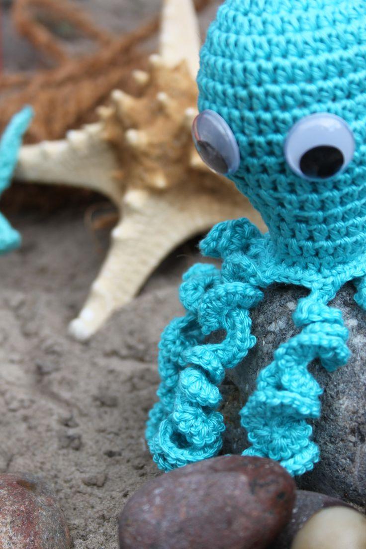 Octopus patroon uit inhaken op vakantie