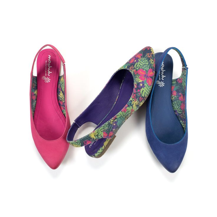 Bang on trend, our new season slingback will bring your outfit to life! In 3 vibrant colours, including our bold new tropical print, Cocoa Bean will be your first choice when adding that special something to your wardrobe, a Moshulu Must Have. Heel height 1.5cm