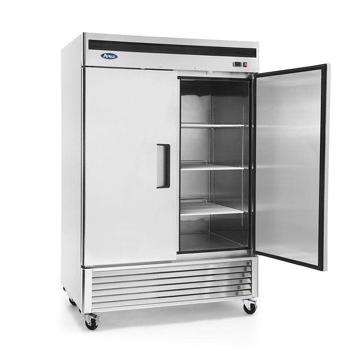 46 Cu Ft Upright Freezer Locker Storage Upright Freezer Restaurant Supplies