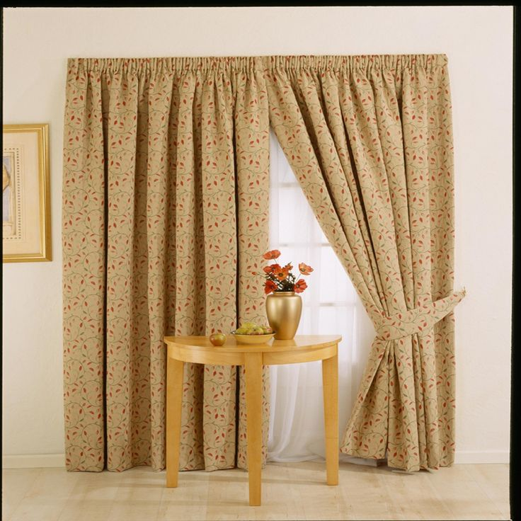 Whiteheads Heythrope Chintz Lined Curtains   Debenhams