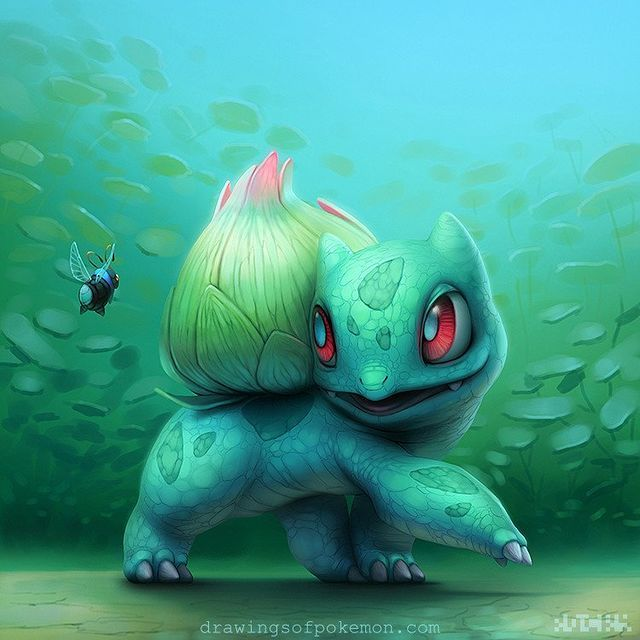 Here Are 10 Pieces of the Most Beautiful and Damn Creepy Pokemon Fan Art | moviepilot.com